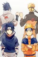 Sasuke e Naruto (Perfil de Jú2754)