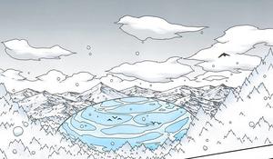 Elemento Agua Gran Explosión de Agua Colisión de Olas Manga