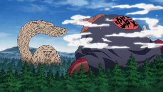 Gamabunta vs Shukaku
