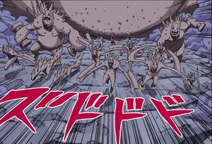 Mini Clones del Diez Colas Manga