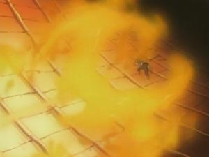 Elemento Fuego Bala de Fuego Flama de Dragón Anime