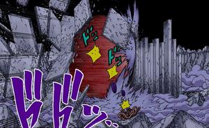 Elemento Tierra Jutsu Práctica de Ladrillo Manga