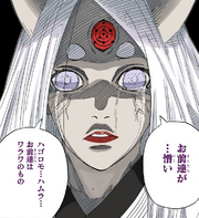 Kaguya llora mientras declara su odio hacia sus hijos