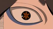 Mangekyō Sharingan de Indra en el anime