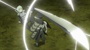 Mitsuki utilizando su Espada