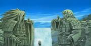 Naruto y Sasuke llegan al Valle del Fin