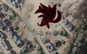 O Clone destruindo a cidade