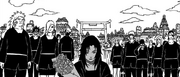 O funeral de Asuma
