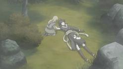 Yukimaru cuidando de Guren
