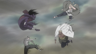 A and Tsunade appear