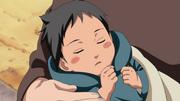 Sasuke étant bébé