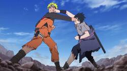 Sasuke contro naruto