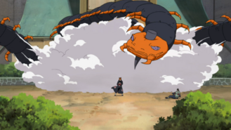 Three giant centipedes summoned