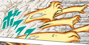 Brazos de Chakra de Bestia con Cola Manga Color
