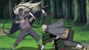 Mifune blokuje Hanzo