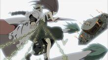 Minato és Kushina megmenti Naruto-t