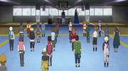 Mizukage recebe estudantes de Konoha