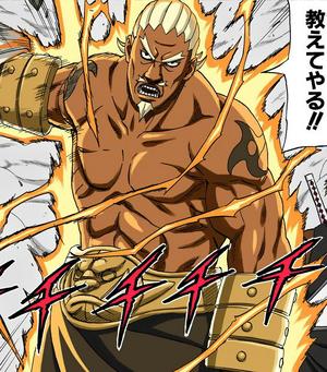 Modo Chakra de Elemento Rayo Manga Color