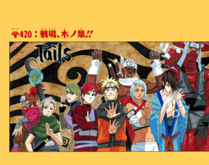 Naruto Capítulo 420 Full Color