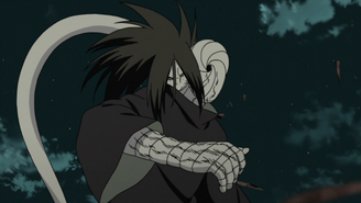 Orochimaru Attacks Tobi