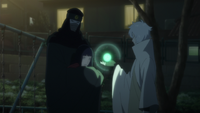 Toneri absorbs Hinata's chakra