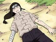 Neji es derrotado por Naruto