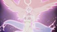 Shion usando o seu poder
