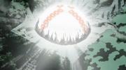 Shiranami libera el jutsu prohibido
