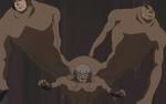 Arashi utilizando la Marioneta de Muertos