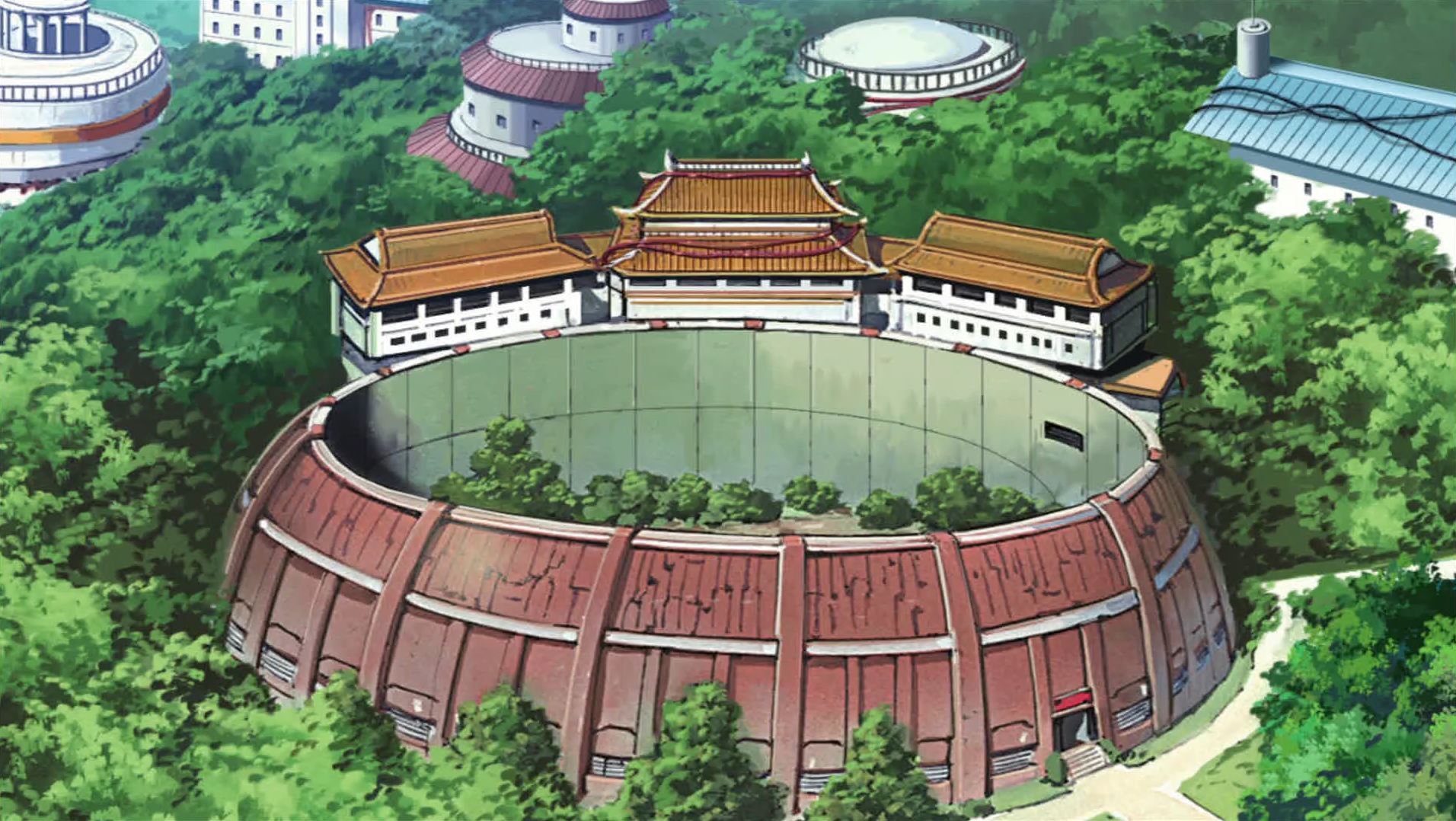 Image result for Chunin exam arena