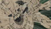 Elemento Viento Perdigones de Arena Anime 2