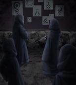 Membros da Kara estudando Selos