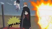 Naruto recuerda cómo Hinata fue a ayudarlo