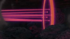 Rayo del Clon de Naruto del Nueve Colas