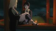 Shizune e Tsunade conversando