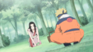 Haku encontra Naruto