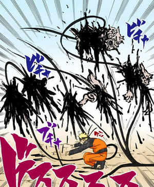 Jutsu Costura de Sombra Manga