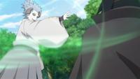 Liberação de Vento - Técnica da Onda de Ar (Urashiki - Anime)