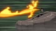Orochimaru solta fogo