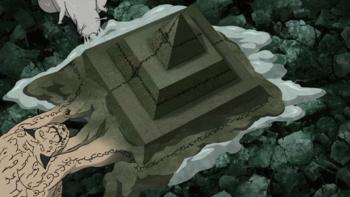 Shukaku wzmacnia technikę przeklętą pieczęcią.