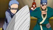 Ao y Chojuro defienden a Mei