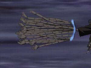 Arte Militar Manipulación de Mil Manos Anime