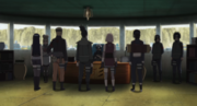 Equipo de rescate de Hanabi reunido