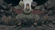 Jiraiya entra no Sennin Modo