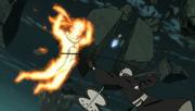 Kakashi ataca Tobi