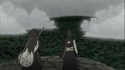 Madara e Obito contra a Aliança Shinobi