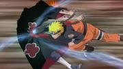 Naruto pokonujący Tendo