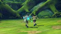 Punho Gentil - Agulha do Tenketsu (Neji - Game)