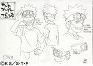 Arte Pierrot - Naruto Bagunceiro