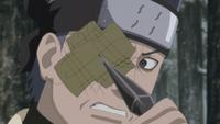 Fū tenta destruir o Byakugan de Ao